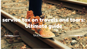 service tax on tour operator and air travel agent