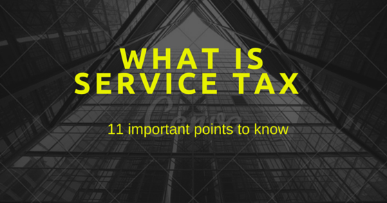 what is service tax