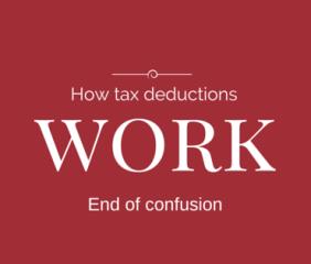 how tax deductions work- tds procedure