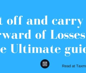 set off and carry forward of losses as per income tax