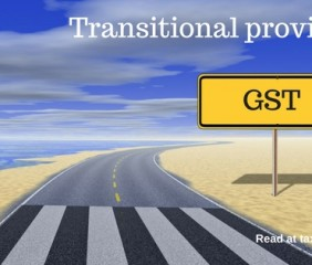 gst transitional provisions